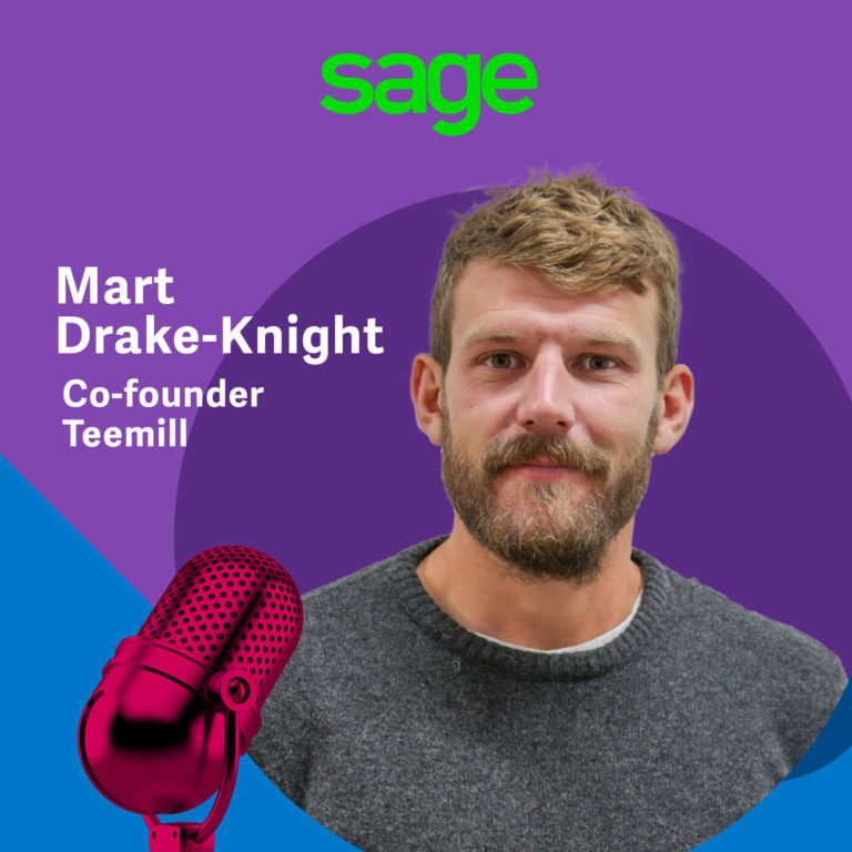 Mart Drake-Knight: 'Can you start up with £200? We did!'